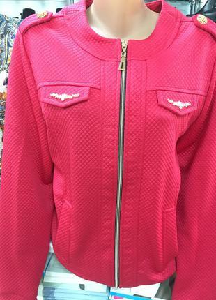 Стильная теплая кофта реглан на замке бомбер пиджак xl  и xxl