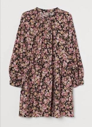 Новое платье h&m розы цветочный принт цена 🔥