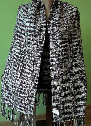Стильный и шикарный шарф, палантин