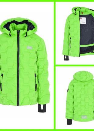 Зимняя детская мембранная куртка lego wear р.110-116 lenne columbia reima
