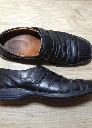 Кожаные туфли josef seibel р. 39-40 стелька 26 см