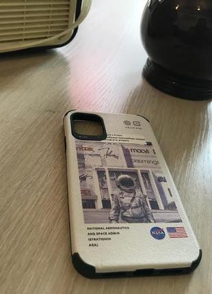 Силиконовый чехол nasa для iphone 11
