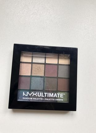 Палетка теней nyx nyx professional makeup ultimate