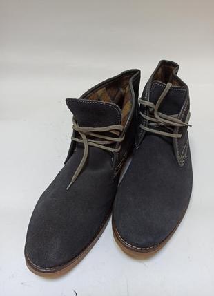 Туфли ботинки на весну мужские pier one.брендове взуття stock