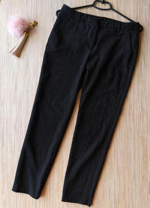 Фактурные плотные брюки от zara