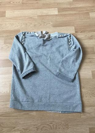 Необычный свитерок oversaze