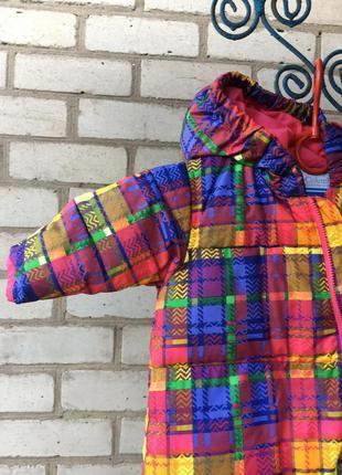 Детский,пуховой комбинезон фирмы columbia