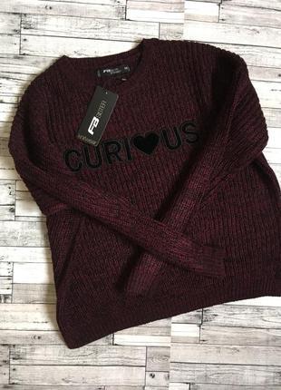 🔥sale🔥вязаный свитер fb sister, xs, s.