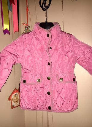 Демисезонная куртка на девочку next