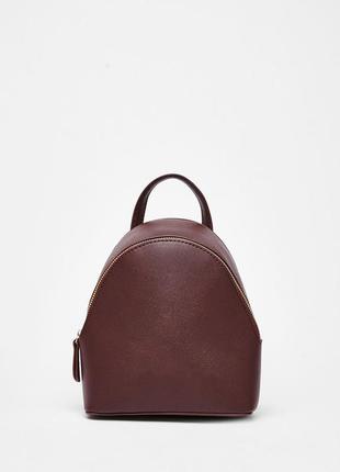 Новый крутой мини рюкзачок bershka марсала бордовый