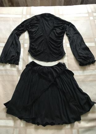 Комплект юбка блуза paola frani