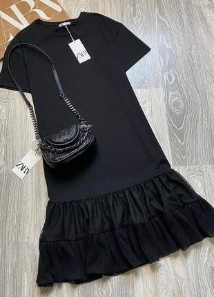 Платье миди, сукня zara