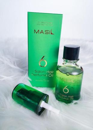 Парфюмированое масло для волос masil 6 salon hair perfume oil