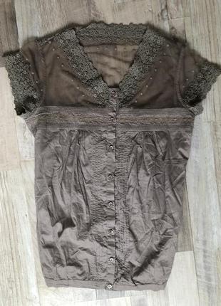Бавовняна блуза