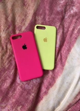 Яркие чехлы на iphone 7+