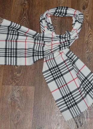 Кашемировый шарф. италия.