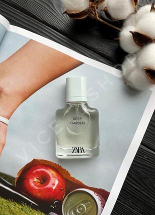 Zara deep garden духи парфюмерия туалетная вода оригинал испания