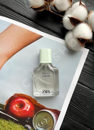Zara lightly bloom духи парфюмерия туалетная вода оригинал испания