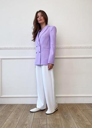 Лавандовые пиджаки