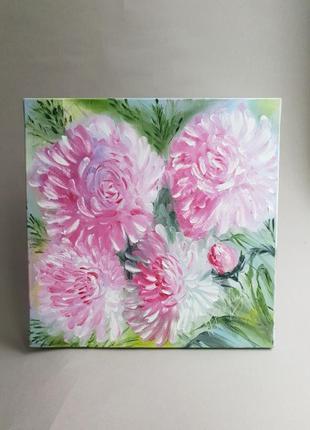 Картина маслом,интерьерная картина,картина цветы