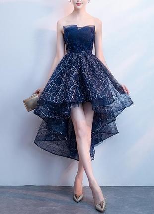 Нарядное, выпускное, праздничное платье с пайетками