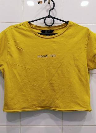 Шикарный натуральный топ футболка