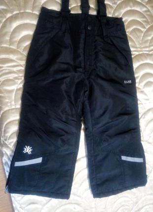 Зимние штаны  d-lab,98см рост.