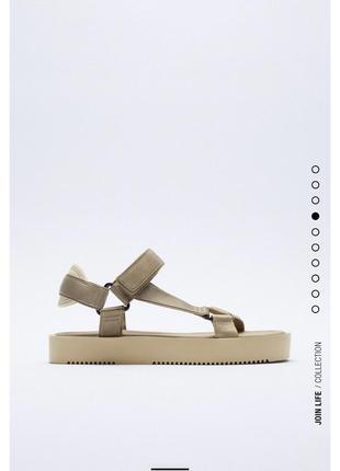 Босоножки сандали на платформе маленькой zara оригинал