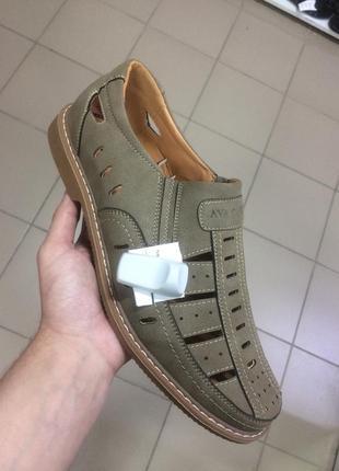 Чоловічі туфлі великі розміри