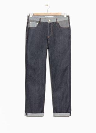 Джинсы other stories cos завышенная талия мам-джинсы mom jeans