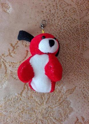 Брелок мягкая игрушка - собака №240