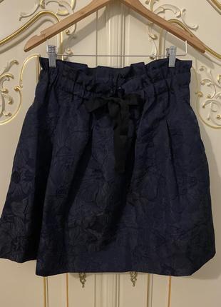 Новая шикарная юбка из жаккарда h&m