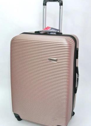 Пластиковые чемоданы davinci италия большой, средний, маленький