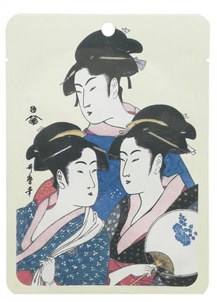 Тканевая маска для лица золото + экстракт цветков сакуры mitomo (япония)