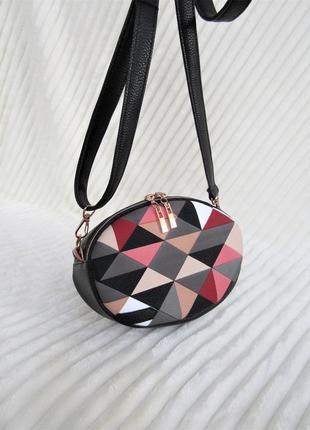 "Клатч - таблетка handmade ""мозайка"""