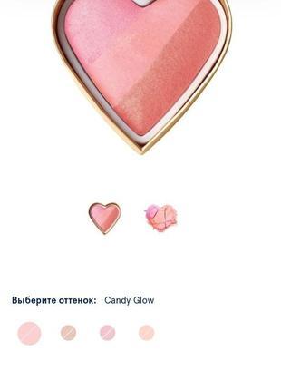 Румяна too faced candy glow оригинал