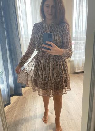 Плаття з принтом reserved