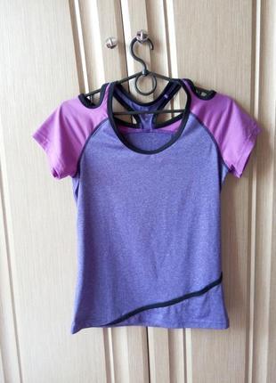 Спортивная футболка/футболка для фитнеса s
