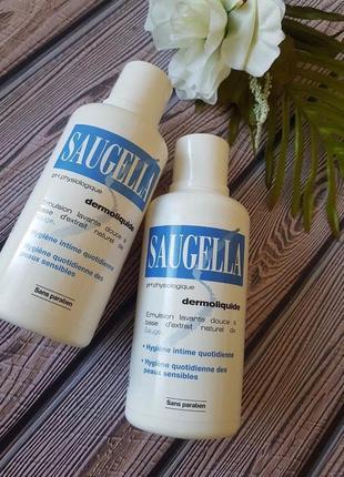 Saugella dermoliquide интимное средство для ежедневного применения с профилактическим и дезодорирующ