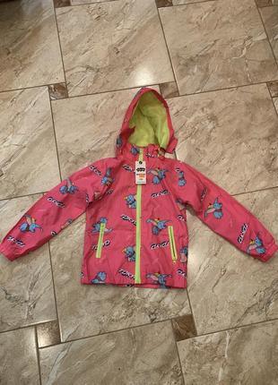 Курточка для девочки весна лето, дождевик для девочки, плащ для девочки, ветровка детская весна