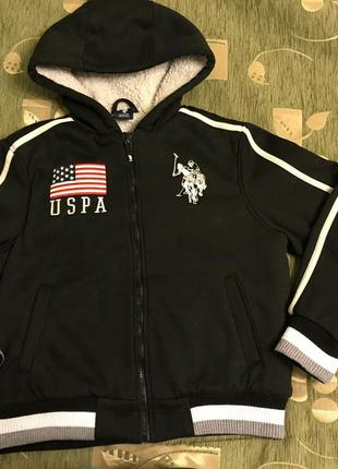 Куртка на меху u. s. polo assn.