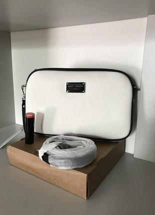 Белая планшетная сумочка david jones