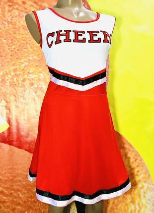 Платье чирлидерши red cheerleader fancy dress