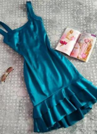 Плаття атлас jadore