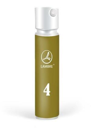 Акция! туалетная вода lambre №4 мужской пробник тестер семпл миниверсия