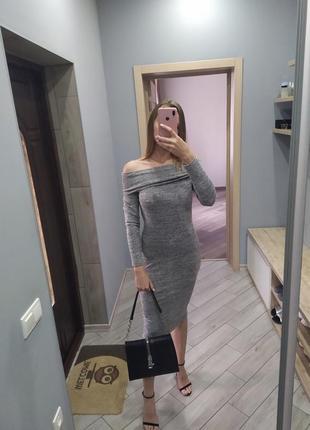 🔥супер облегающие платье 🔥