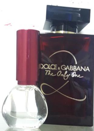 Розкішний аромат dolce&gabbana the only one 2  розпив4 фото