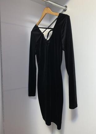 Платье с вырезом и открытой спинкой!