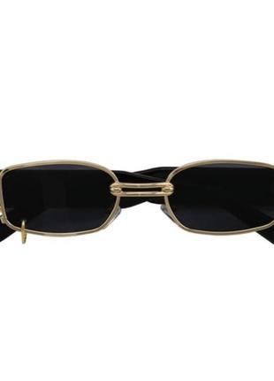 Новые солнцезащитные очки с кольцом тренд стиль