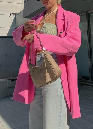 Розовый пиджак в стиле zara. распродажа.